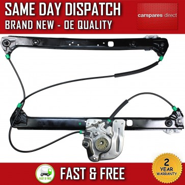 BMW E53 X5 SUV COMPLETE ELECTRIC WINDOW REGULATOR FRONT LEFT PASSENGER 00-06 NEW