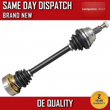 AUDI SEAT SKODA VW FRONT DRIVESHAFT + CV-JOINT LEFT/NEAR SIDE *BRAND NEW*