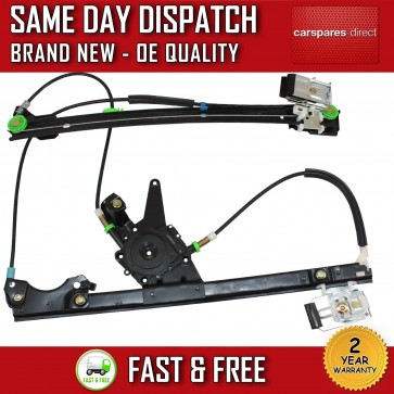 VW GOLF VENTO MK3 COMPLETE ELECTRIC WINDOW REGULATOR FRONT LEFT *NEW* 1991-1998