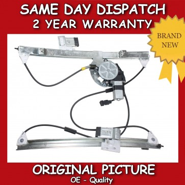 VW POLO 6N WINDOW REGULATOR FRONT RIGHT SIDE 2/3 DOOR WITH 2 PIN MOTOR 1994>2001