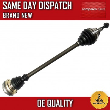 AUDI A3 SEAT SKODA VW CV JOINT COMPLETE DRIVESHAFT RIGHT OFF SIDE BRAND NEW