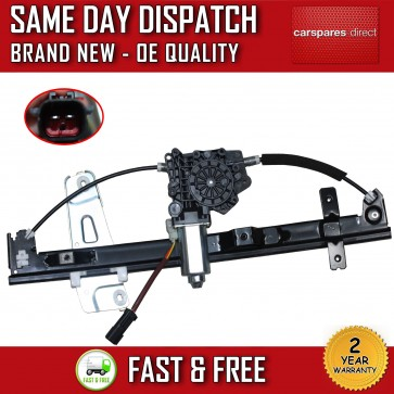JEEP GRAND CHEROKEE FRONT RIGHT WINDOW REGULATOR DRIVER SIDE 4 DOOR WITH MOTOR