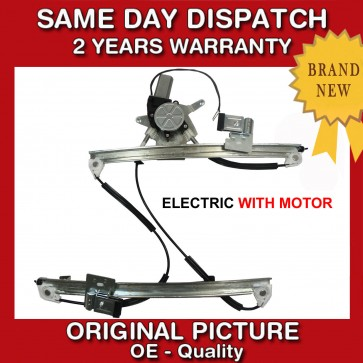 VW LUPO WINDOW REGULATOR WITH 2 PIN MOTOR FRONT RIGHT SIDE  2/3 DOORS 1998>2005