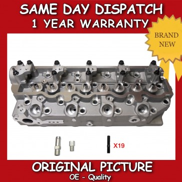 MITSUBISHI L200 4D56/T CYLINDER HEAD BARE 1992>2007 FLUSH TYPE VALVES