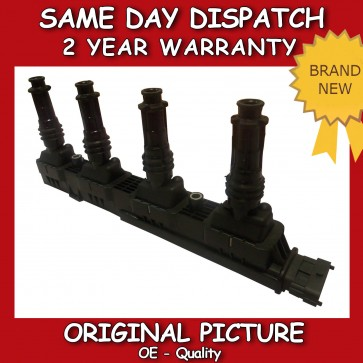 VAUXHALL CORSA C 1.2,1.4 IGNITION COIL 2000>on *BRAND NEW* 2 YEAR WARRANTY