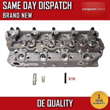 CYLINDER HEAD BARE FIT FOR A HYUNDAI GALLOPER,TERRACAN,H-1 2.5TD 1998>2006 *NEW*