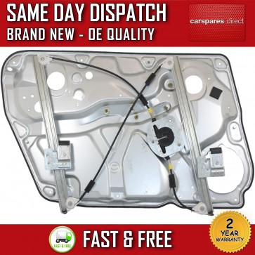 VW PASSAT B5/ SKODA SUPERB 3U4 FRONT RIGHT SIDE ELECTRIC WINDOW REGULATOR& PANEL