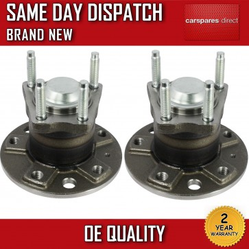 VAUXHALL ZAFIRA A 1.6,1.8,2.0,2.2 WHEEL BEARING + HUB x2 REAR PAIR 1999>05 NEW