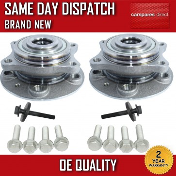 VOLVO V70 II (MK2) WHEEL BEARING + HUB 2000>07 x2 FRONT PAIR NEW 2YRS WARRANTY