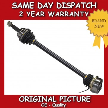 SEAT AROSA 1.0,1.4,1.7 DRIVESHAFT + CV JOINT OFF/RIGHT/DRIVER SIDE 1997>2004 NEW