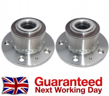 SKODA RAPID,ROOMSTER FRONT WHEEL BEARING + HUB PAIR (2x) 2001>on NEW