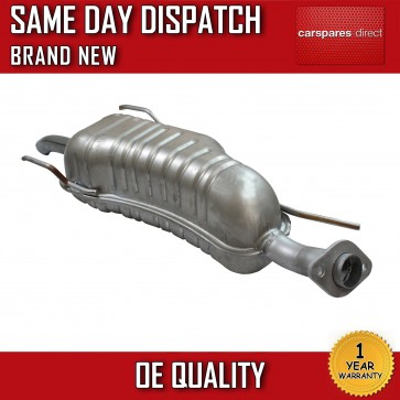 VAUXHALL ZAFIRA 1.6,1.8 EXHAUST REAR SILENCER/BACK BOX 1999>on *BRAND NEW*