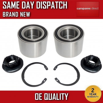 2X REAR WHEEL BEARING FORD FOCUS 98 - 05 FIESTA 01 - 09 FUSION 02>on *NEW*