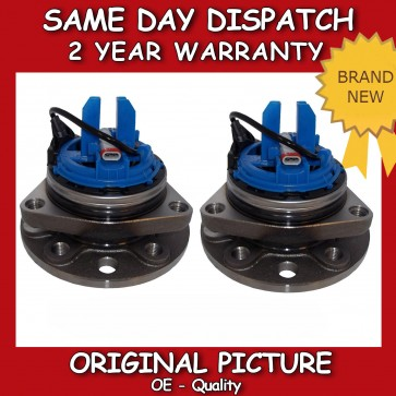VAUXHALL VECTRA C 1.9 CDTI FRONT 2X WHEEL BEARING HUB WITH ABS/IDS 05-09 *NEW*