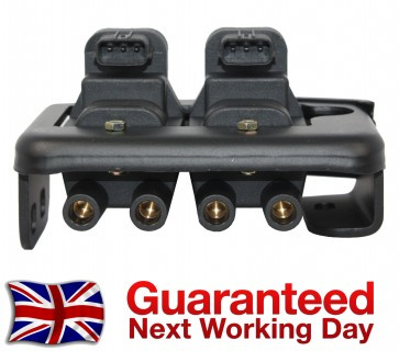 MAZDA MX5 1.8 IGNITION COIL PACK 3 PIN TYPE WITH BRACKET 1993>1998 *BRAND NEW*