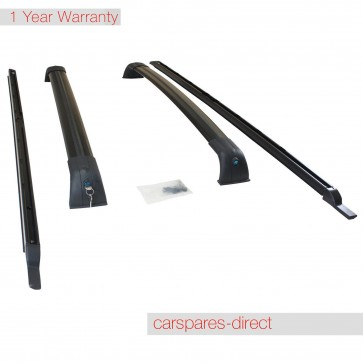 LAND ROVER DISCOVERY 3 & 4 OEM STYLE ROOF RAILS BAR RACK *BRAND NEW*