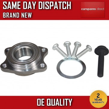 AUDI A4,S4,RS4 FRONT WHEEL BEARING + BOLTS 2002>2009 *BRAND NEW*