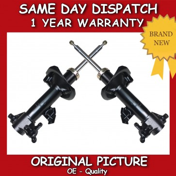 2x FRONT SHOCK ABSORBER FIT FOR A NISSAN PRIMERA (P12, WP12) STRUTS 2002>ON NEW