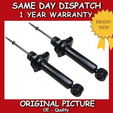 SHOCK ABSORBER FIT FOR A NISSAN ALMERA (N16) MK2 REAR PAIR OF STRUTS 2000>ON NEW