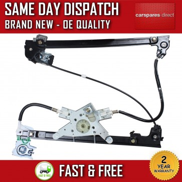 VW CADDY MK2 FRONT LEFT SIDE COMPLETE ELECTRIC WINDOW REGULATOR 1995>2004  *NEW*