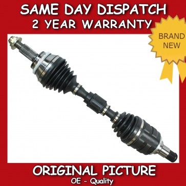 TOYOTA VERSO 2.0 D-4D FRONT DRIVESHAFT NEAR SIDE 2009>on *BRAND NEW*
