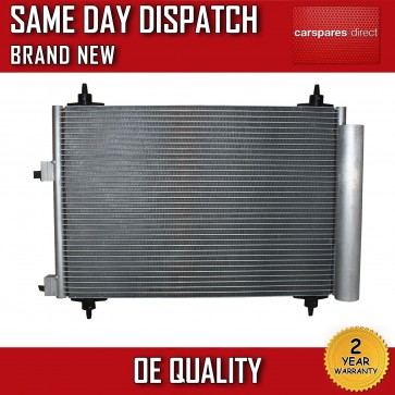 PEUGEOT 307 1.4 1.6 2.0 2000>ON AC CONDENSER/RADIATOR 2 YEAR WARRANTY BRAND NEW