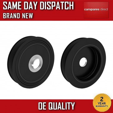CRANKSHAFT PULLEY FIT FOR A NISSAN INTERSTAR DCI 100,120 2003>on *BRAND NEW*