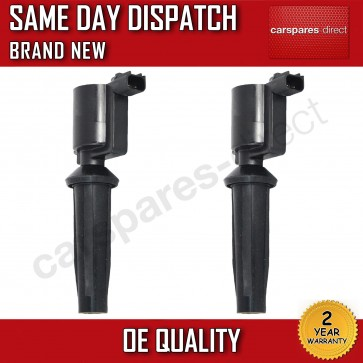 2X IGNITION COIL KIT FIT FOR A FORD FOCUS C-MAX 1.8 / 2.0 03>07  **BRAND NEW**