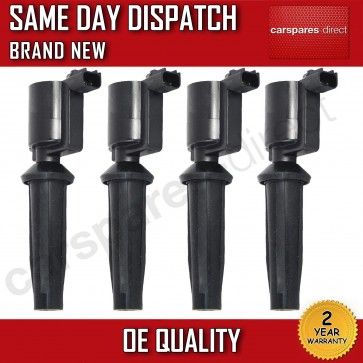 4 NEW PENCIL IGNITION COILS FOR A FORD FOCUS MONDEO 1.8 2.0  2003>ON