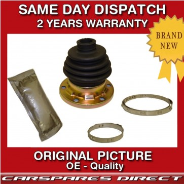 VW GOLF MK5 1.4 1.6 1.9 2.0 03>08 DRIVESHAFT INNER CV JOINT BOOT KIT