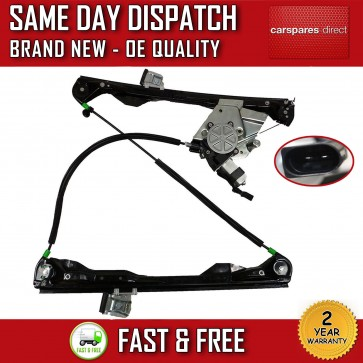 FORD FOCUS 98 >05 FRONT RIGHT SIDE ELECTRIC WINDOW  REGULATOR WITH MOTOR 2 DOOR