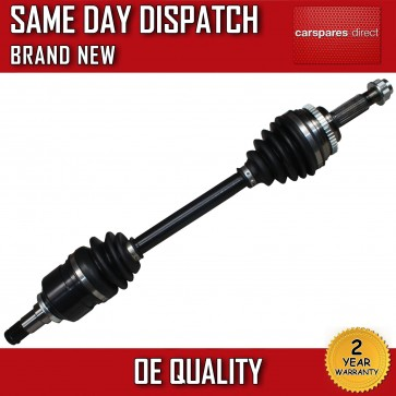 TOYOTA AVENSIS T25 1.8 DRIVESHAFT + CV-JOINT NEAR SIDE 01>08 *NEW* 2YR WARRANTY
