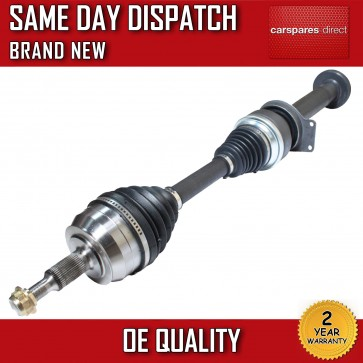 DRIVESHAFT WITH STUB SHAFT FOR A VW TRANSPORTER T5 T-5 2.5 RIGHT OFF SIDE 03-09