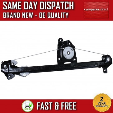 VAUXHALL ASTRA G 1998-2009 REAR LEFT SIDE ELECTRIC WINDOW REGULATOR W/OUT MOTOR