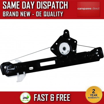 FORD FOCUS REAR RIGHT DRIVER SIDE ELECTRIC WINDOW REGULATOR WITHOUT MOTOR 98>04