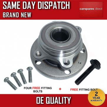 VW GOLF Mk5 1.4 1.6 1.8 1.9 2.0 3.2 TDi GTTDi  4 STUD FRONT WHEEL BEARING + HUB