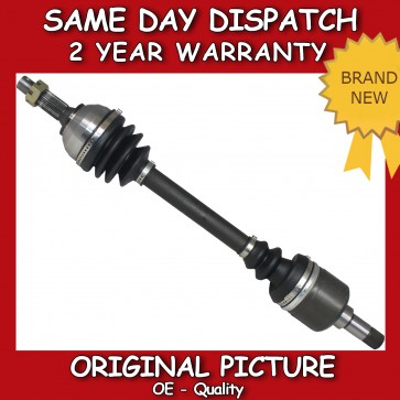 PEUGEOT 407 2.0,2.2 HDi DRIVESHAFT LEFT/NEAR/PASSENGER SIDE 2004>on *NEW*