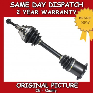 AUDI A3 1.9,2.0 AUTO/DSG DRIVESHAFT CV JOINT NEAR/LEFT/PASSENGER SIDE 2003>on