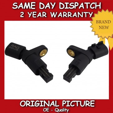 VW BEETLE PAIR OF ABS SENSOR REAR RIGHT+LEFT 1999>2011 *BRAND NEW* 1J0927807B