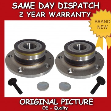 2X VW GOLF MK5,MK6 32MM REAR WHEEL BEARING + HUB 2003>on *BRAND NEW*