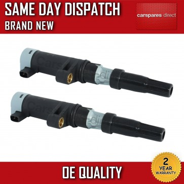 SET OF 2 IGNITION COILS FIT FOR RENAULT AVANTIME,THALIA,TWINGO,VEL SATIS *NEW*