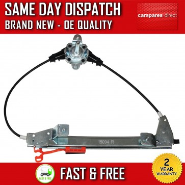 FIAT GRANDE PUNTO REAR RIGHT DRIVER SIDE MANUAL WINDOW REGULATOR 2005>2011 *NEW*