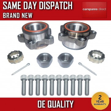 2x TRANSIT FRONT WHEEL BEARING KIT + NUT PAIR Mk6 2000>2006 ALL MODELS