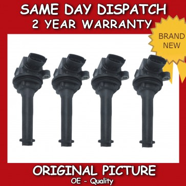 VOLVO S70 2.0,2.3,2.4,2.5 X4 PENCIL COIL 1996>2000 *NEW*