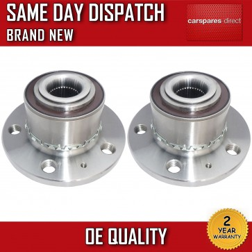 VW FOX 1.2,1.4 FRONT WHEEL BEARING + HUB PAIR (2x) 2005>on WITH ABS *NEW*