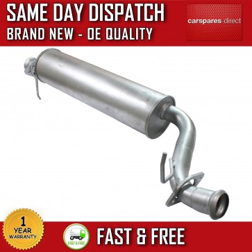 RANGE ROVER P38 MK2 PETROL EXHAUST CENTRE SILENCER 1 YEAR WARRANTY *BRAND NEW*