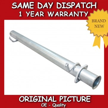 LANDROVER DISCOVERY 2 TD5 V8 300 TDI  STRAIGHT THROUGH CENTER PIPE **BRAND NEW**