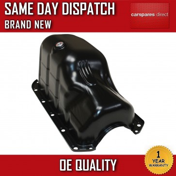 FIAT 500 BRAVO DOBLO 1.2 1.4 STEEL OIL SUMP PAN 1995>ON *BRAND NEW* 8mm HOLES