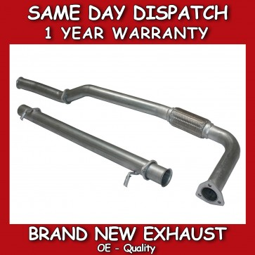 LAND ROVER DISCOVERY 300TDI  DECAT EXHAUST & STRAIGHT THROUGH CENTER PIPE *NEW*