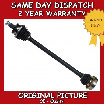 VW POLO 1.2,1.4,1.9 DRIVESHAFT + CV JOINT RIGHT/DRIVER SIDE 2001>2009 BRAND NEW